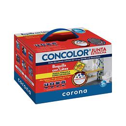 Boquilla Concolor Junta Estrecha x 5 Kg
