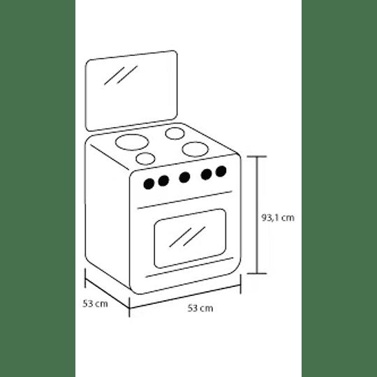 Estufa De Piso Gas Natural