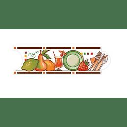Listello para Cocina Mecina Café 8 x 25 cm