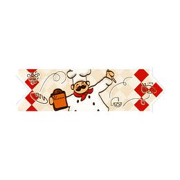Listello para Cocina Cocinerito Beige 8 x 25 cm