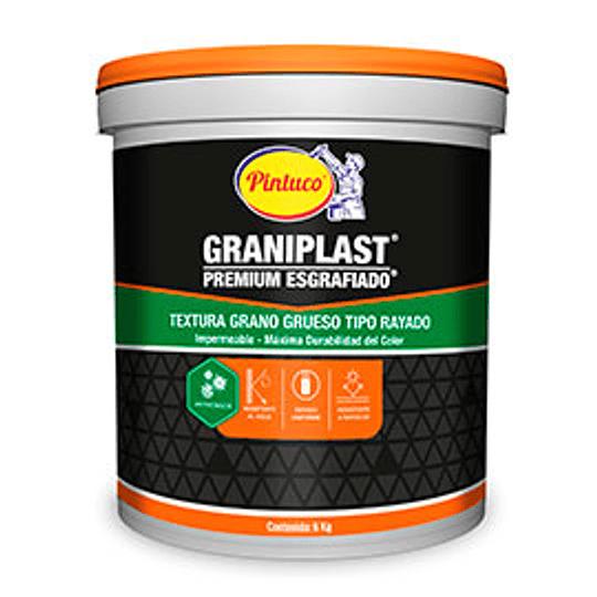 Esgrafiado Premium Graniplast Tipo Rayado