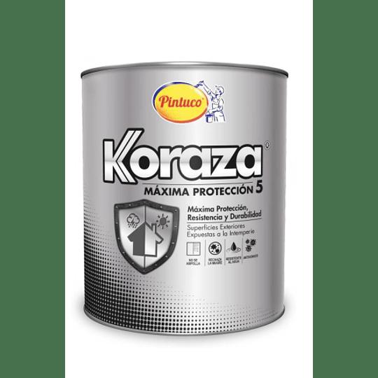 Pintura Koraza 5 Ultra Blanco Galón