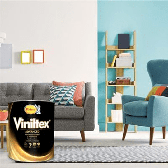 Pintura Viniltex Advanced Blanco