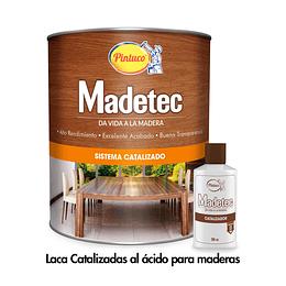 Combo Laca Catalizada para Madera + Catalizador