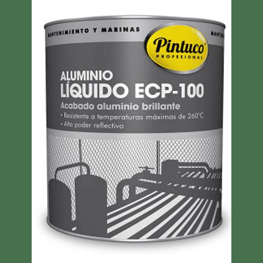 Aluminio Líquido Extra Reflectivo Brillante ECP 100