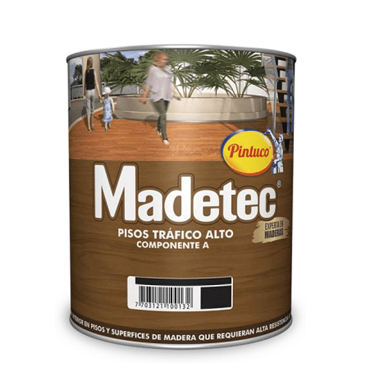 Madetec Componente A  Pisos Tráfico Alto