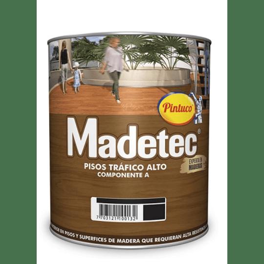 Madetec Componente B Pisos Tráfico Alto