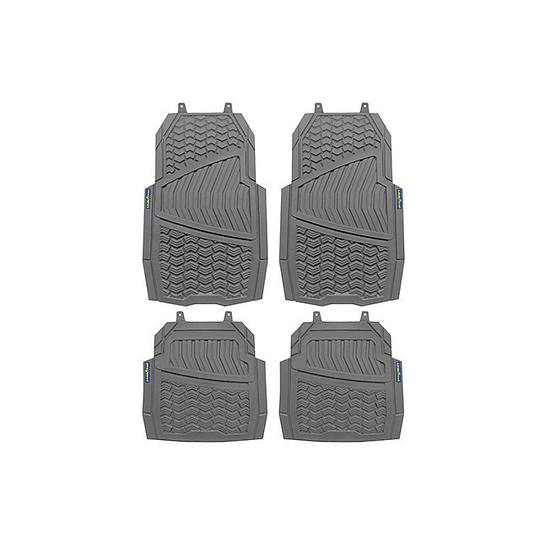 Juego de Tapetes para Auto Velcro Gris