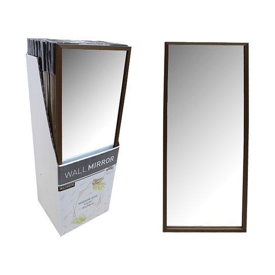 Espejo de Pared 30 x 90 cm