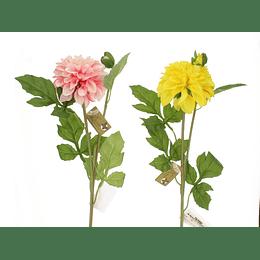 Flor Artificial Dalia de 64 cm