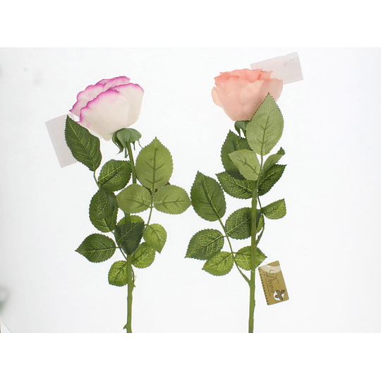 Flor Artificial Rosa de 58 cm