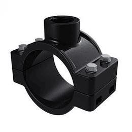 Collar de Derivación Sencillo Tornillo Metálico PN10