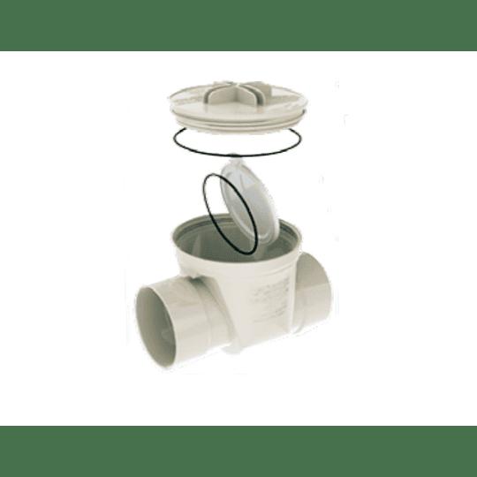 Válvula Antiretorno PVC Sanitaria