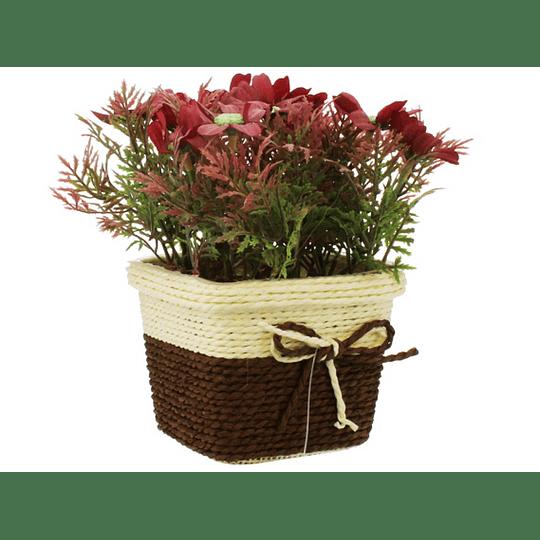 Planta Artificial con Matera de 11 cm
