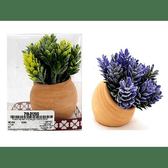 Planta Artificial con Maceta 12 cm