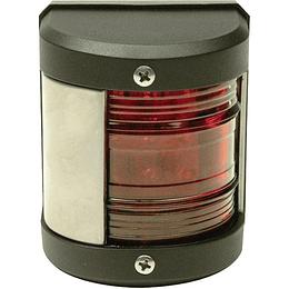 Luz Led de Babor con Borde en Acero - Rojo