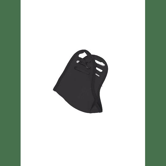 Tapabocas en Tela Color Negro