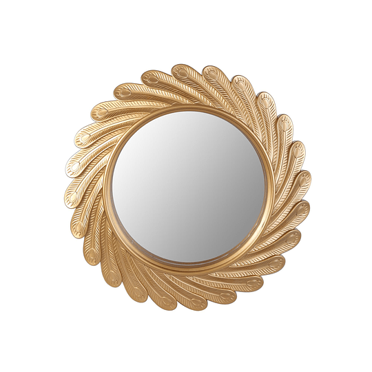 Espejo Dorado Girasol
