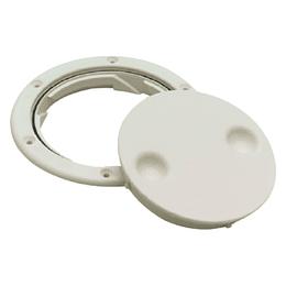 Tapa Blanca de Registro con Rosca