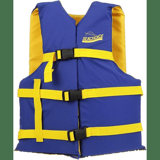 Chaleco Salvavidas Azul/Amarillo Universal