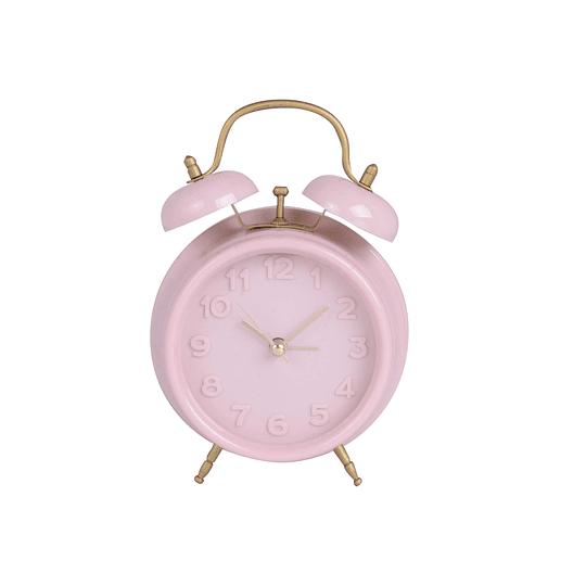 Reloj de Mesa Rosado