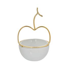 Pote Decorativo Manzana 10.5 x 17.5 cm