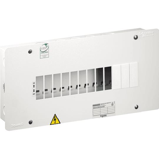Tablero Monofásico 120 V 12 circuitos 75 A CP