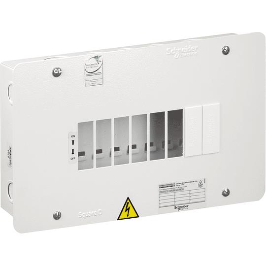 Tablero Monofásico 120 V 8 circuitos VTQ 75 A