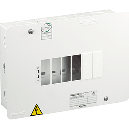 Tablero Monofásico 240 V 6 circuitos VTQ 75 A