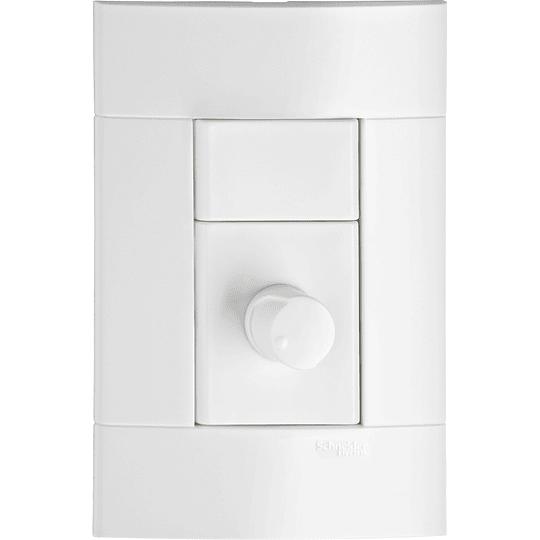 Dimmer Sencillo Giratorio 120 V - 300 W Lunare