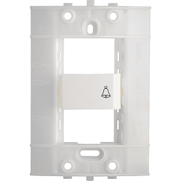 Interruptor Pulsador para Timbre Blanco Decor