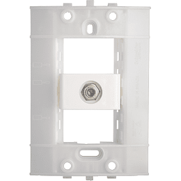 Toma Para Tv Tipo Coaxial 75 Ohm Blanco Decor