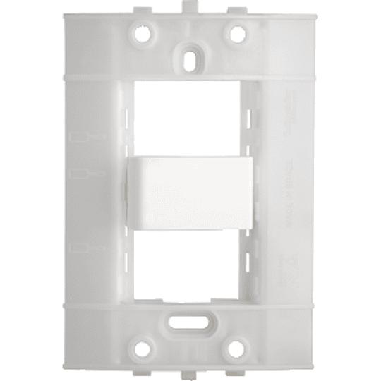 Interruptor Intermediario de Cruzamiento (4 Vías) Blanco Decor