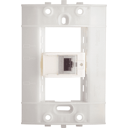 Toma para Datos Rj45 Cat Blanco Decor