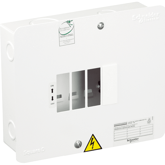 Tablero Monofásico 120V de 4 circuitos VTQ 75 A