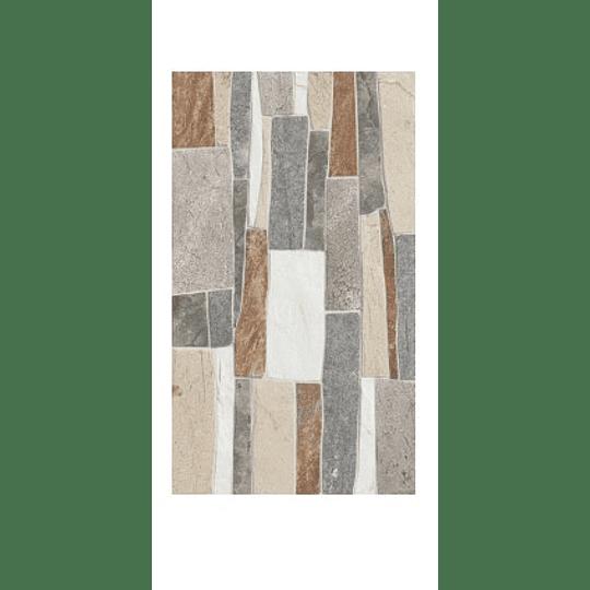 Fachaleta Santa Marta Multicolor 32 x 56 cm