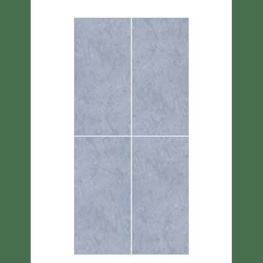 Pared Tanis Azul 24.5 x 50 cm