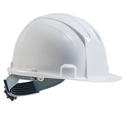 Casco Eco Ratchet Blanco
