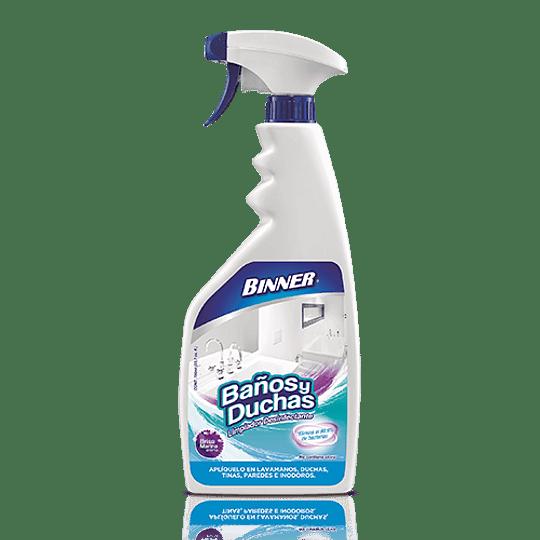 Limpiador Desinfectante 500Ml Baños/Duchas