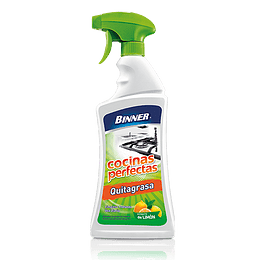 Quitagrasa Cocinas Perfectas Limpieza Profunda Spray 500 Ml