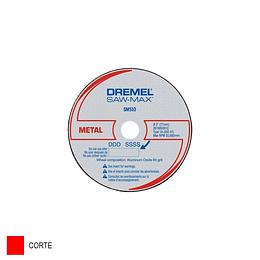 Disco de Corte para Metal SM510 de 7.62 mm por 3 Und