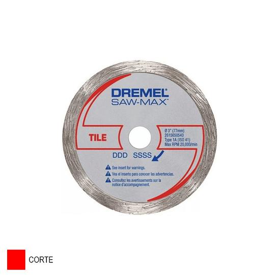 Disco de Corte Diamantado para Baldosa de 7.62 cm