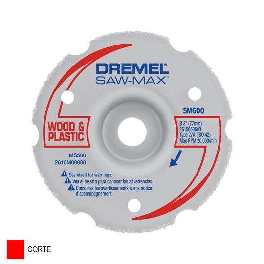 Disco de Multiuso Saw Max SM600 de 7.62 cm