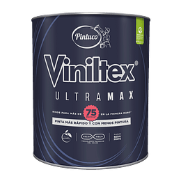 Viniltex Ultramax Blanco de 1/4 Galón