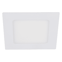 Panel Led Cuadrado Incrustar 6W - 6000k