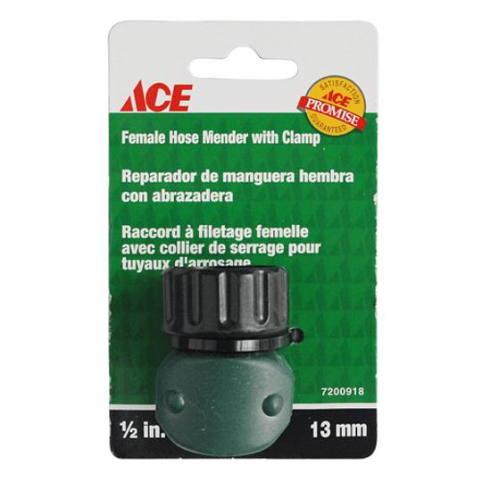 Conexión Mang Hembra 16Mm 1/2 Plástico  Ace