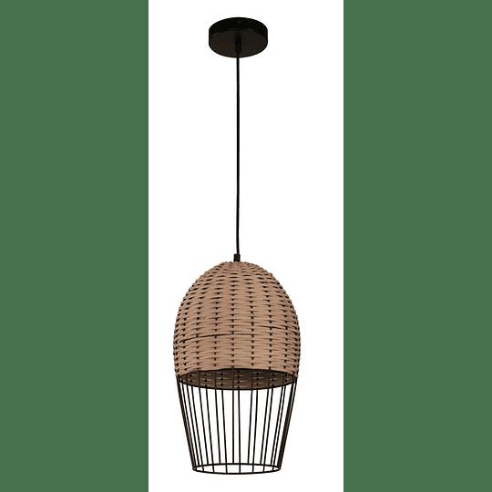 Lampara Colgante 1 Luz E27 40W