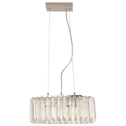 Lampara Colgante 2 Luces E27 60W