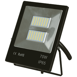 Reflector Led Negro 70W 6000K (Slim)
