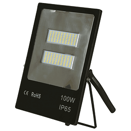 Reflector Led Negro 100W 6000K (Slim)